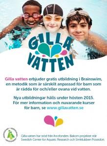 Gilla Vatten - annons