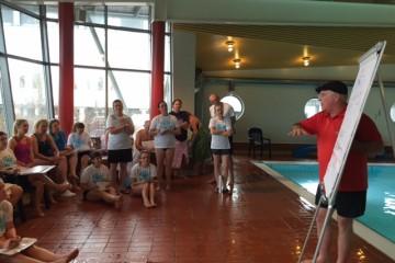 Lyckad utbildning i Brainswim i Halmstad förra helgen