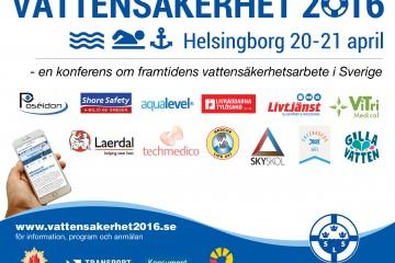 Gilla Vatten deltar på Vattensäkerhet 2016 i Helsingborg