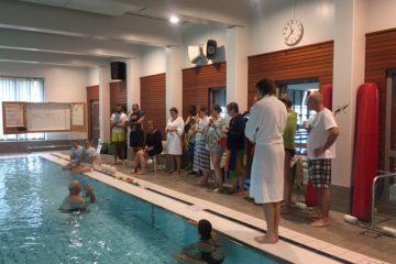 Hösten första utbildning i Brainswim gick i Skellefteå