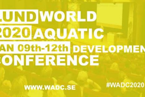 Välkommen till World Aquatic Development Conference i Lund 9-12 januari 2020